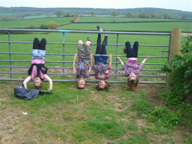 Kids on a Gate