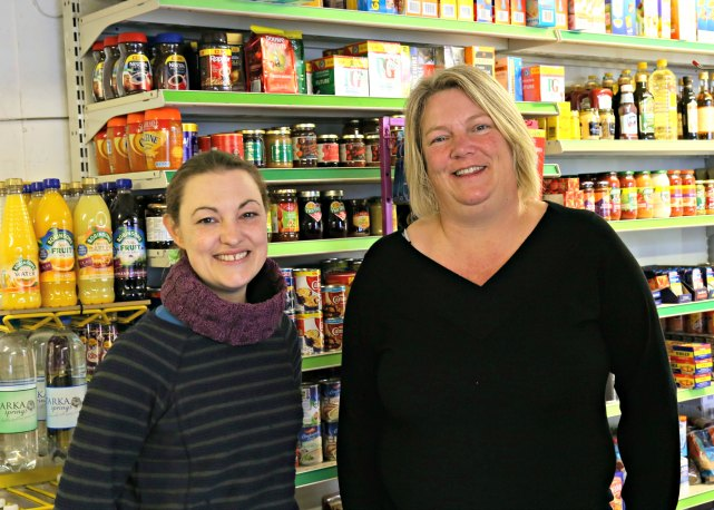 Rachael and Lisa Kentisbeare Village Shop